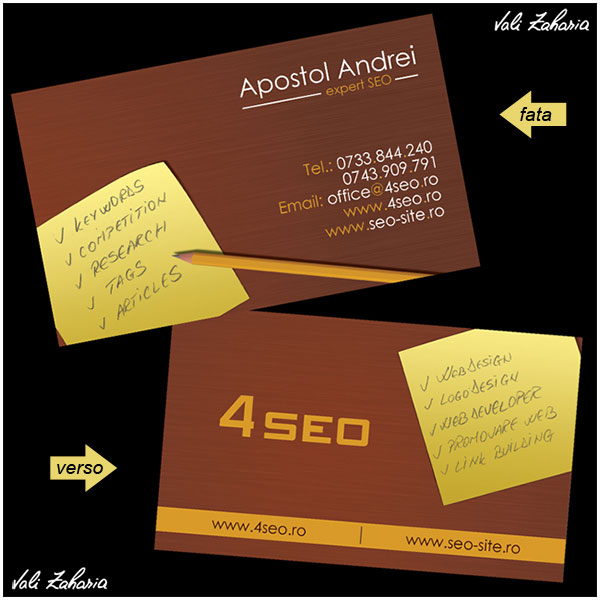 SEO Business card