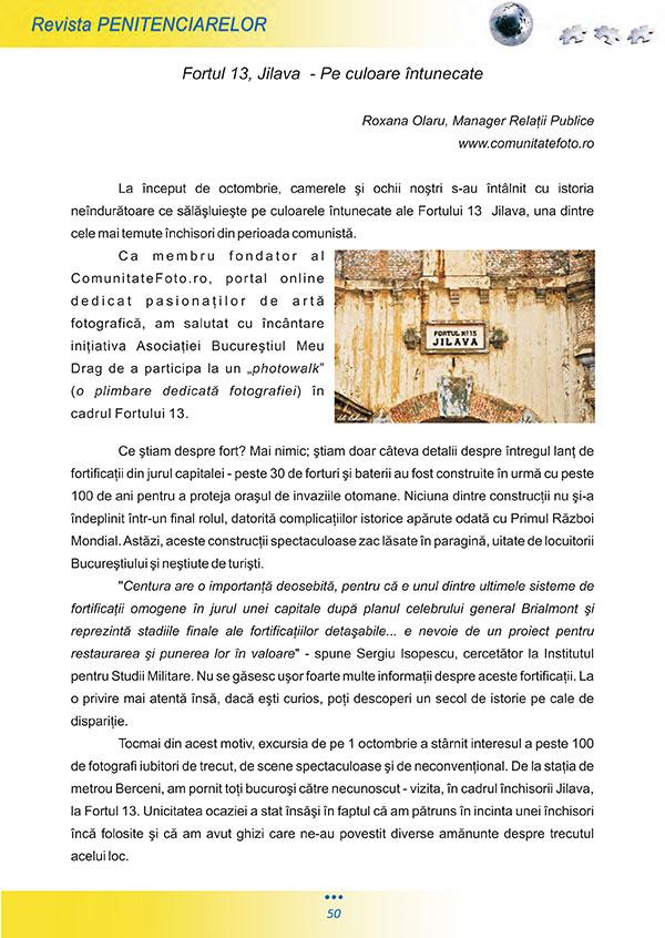 Articol Fortul 13 - pagina 1 - Fotografii Vali Zaharia