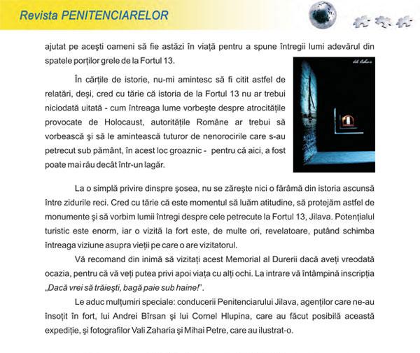 Articol Fortul 13 - pagina 3 - Fotografii Vali Zaharia